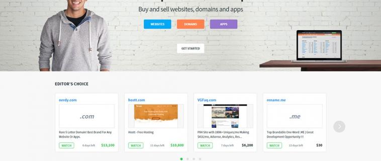 Как разработчику продать свое приложение? Обзор зарубежной биржи Flippa.com